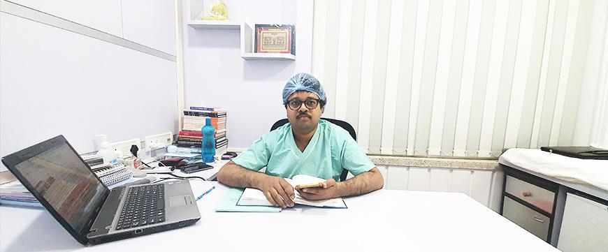 dr jayanta bain photo at Bain clinic